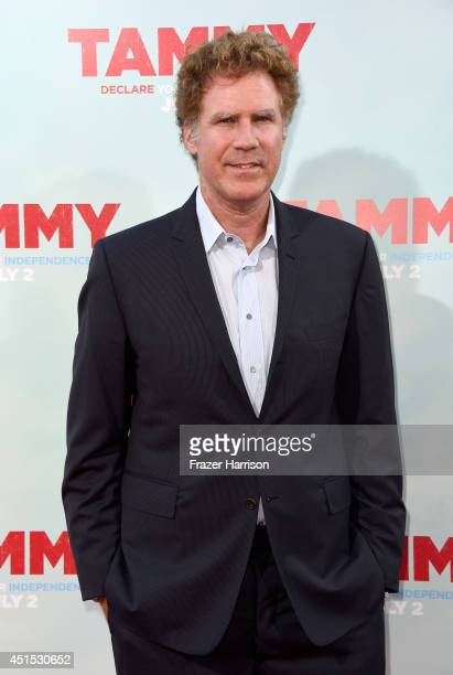 Actor Will Ferrell attends the premiere of Warner Bros Pictures' 'Tammy' at TCL Chinese Theatre on June 30 2014 in Hollywood California