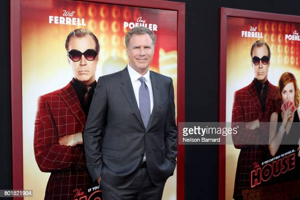 Actor Will Ferrell attends the premiere of Warner Bros Pictures' 'The House' at TCL Chinese Theatre on June 26 2017 in Hollywood California