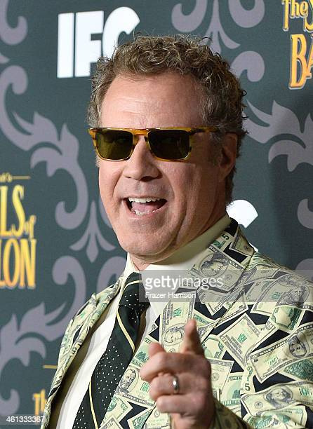 Actor Will Ferrell attends the screening of IFC's 'The Spoils Of Babylon' at DGA Theater on January 7 2014 in Los Angeles California