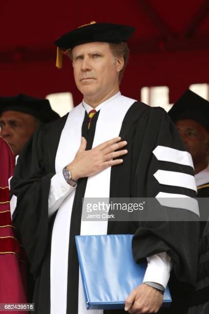 Actor Will Ferrell attends the University Of Southern California 134th Commencement Ceremonies at The Shrine Auditorium on May 12 2017 in Los Angeles...