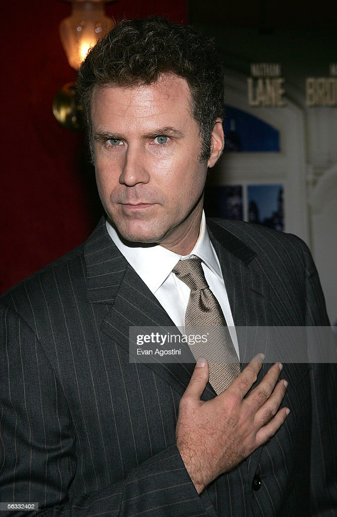 Actor Will Ferrell attends the World Premiere of 'The Producers' at the Ziegfeld Theatre December 4 2005 in New York City