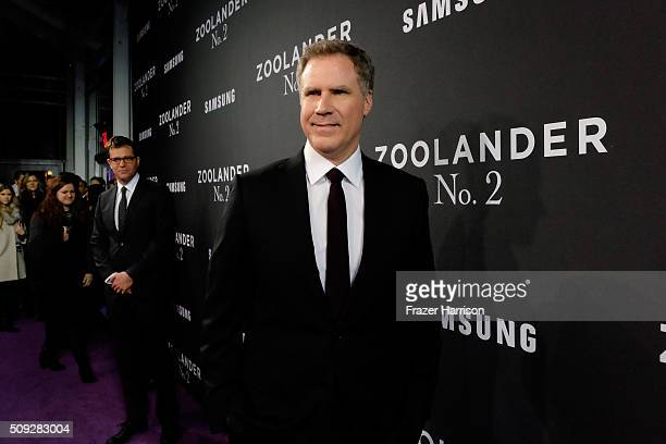 Actor Will Ferrell attends the 'Zoolander No 2' World Premiere at Alice Tully Hall on February 9 2016 in New York City