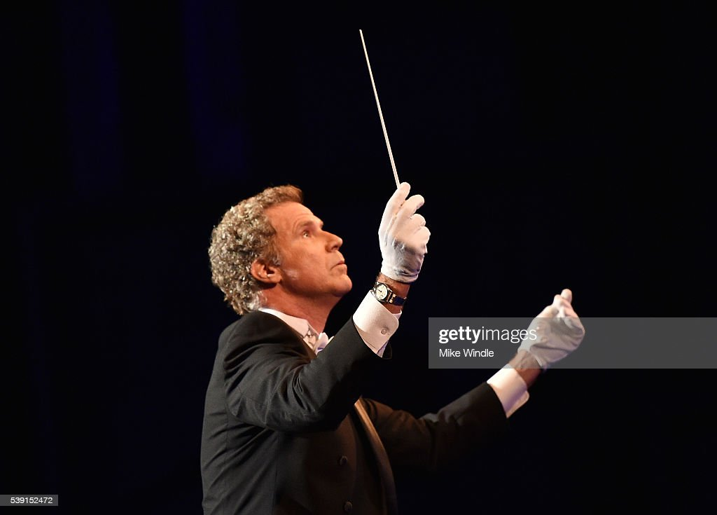 Actor Will Ferrell onstage during American Film Institute's 44th Life Achievement Award Gala Tribute show to John Williams at Dolby Theatre on June 9, 2016 in Hollywood, California. 26148_002