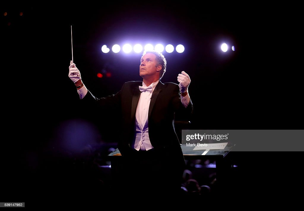 Actor Will Ferrell performs onstage during American Film Institute's 44th Life Achievement Award Gala Tribute show to John Williams at Dolby Theatre on June 9, 2016 in Hollywood, California. 26148_003