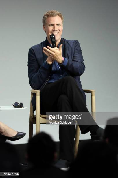 Actor Will Ferrell speaks on stage during 'Exclusive The House With Will Ferrell' at Apple Store Soho on June 21 2017 in New York City