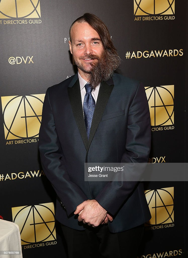 Actor Will Forte attends the Art Directors Guild 20th Annual Excellence In Production Awards at The Beverly Hilton Hotel on January 31 2016 in...