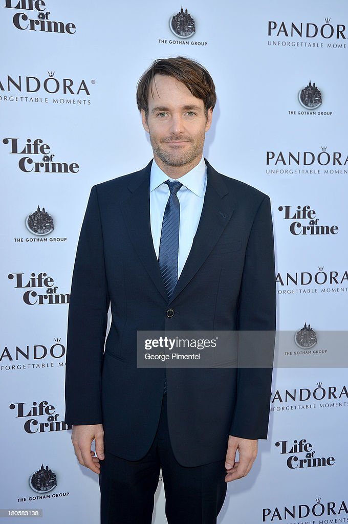 Actor <a gi-track='captionPersonalityLinkClicked' href=/galleries/search?phrase=Will+Forte&family=editorial&specificpeople=2155213 ng-click='$event.stopPropagation()'>Will Forte</a> attends the 'Life of Crime' cocktail reception presented by PANDORA Jewelry at Hudson Kitchen during the 2013 Toronto International Film Festival on September 14, 2013 in Toronto, Canada.