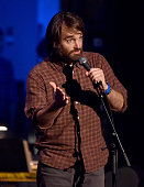Actor Will Forte speaks onstage during The David Lynch Foundation's DLF Live Celebration of the 60th Anniversary of Allen Ginsberg's 'HOWL' with...