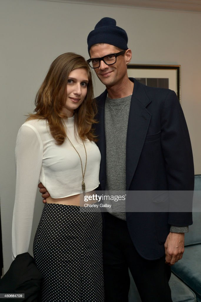 Actor Will McCormack (R) and guest attend the launch celebration of the Banana Republic L'Wren Scott Collection hosted by Banana Republic, L'Wren Scott and Krista Smith at Chateau Marmont on November 19, 2013 in Los Angeles, California.