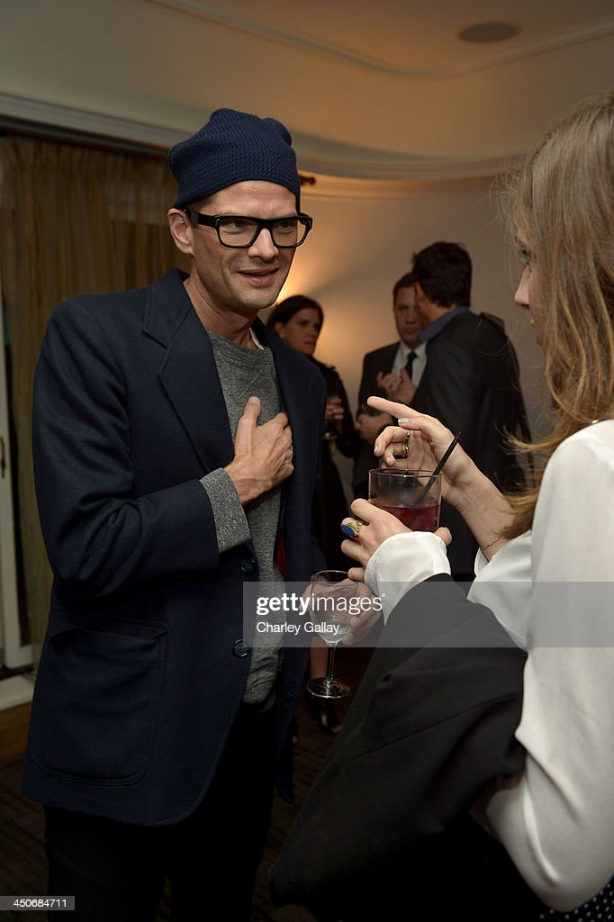 Actor Will McCormack attends the launch celebration of the Banana Republic L'Wren Scott Collection hosted by Banana Republic, L'Wren Scott and Krista Smith at Chateau Marmont on November 19, 2013 in Los Angeles, California.