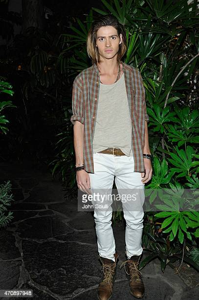 Actor Will Peltz attends Opening Ceremony and Calvin Klein Jeans' celebration launch of the #mycalvins Denim Series with special guest Kendall Jenner...