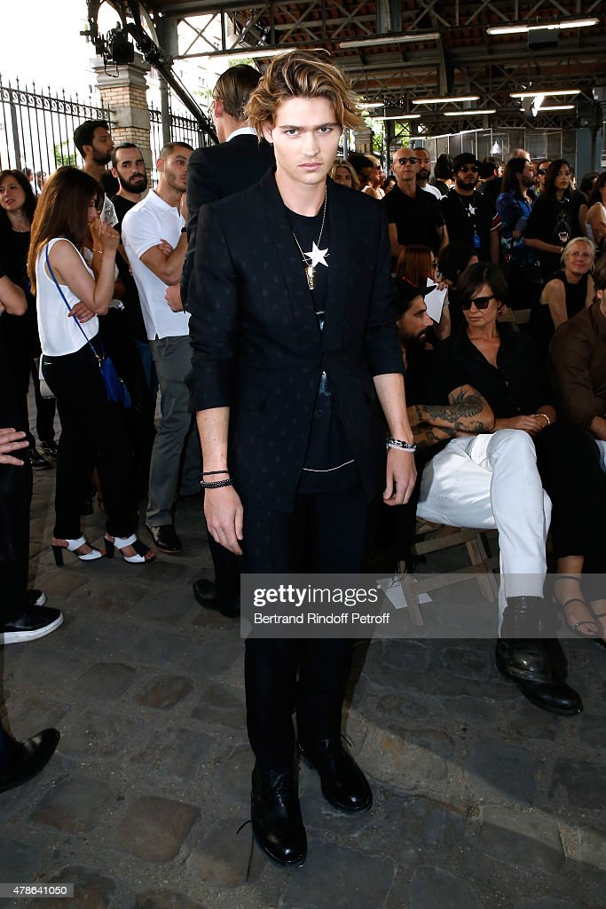 Actor Will Peltz (William) attends the Givenchy Menswear Spring/Summer 2016 show as part of Paris Fashion Week on June 26, 2015 in Paris, France.