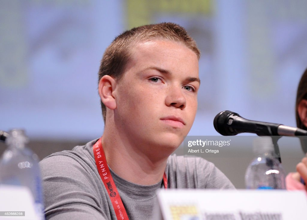 Actor <a gi-track='captionPersonalityLinkClicked' href=/galleries/search?phrase=Will+Poulter&family=editorial&specificpeople=4599059 ng-click='$event.stopPropagation()'>Will Poulter</a> attends the 20th Century Fox presentation during Comic-Con International 2014 at San Diego Convention Center on July 25, 2014 in San Diego, California.