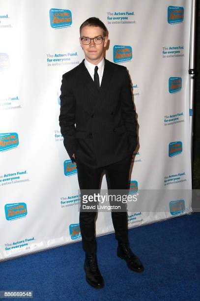 Actor Will Poulter attends The Actors Fund's 2017 Looking Ahead Awards honoring the youth cast of NBC's 'This Is Us' at Taglyan Complex on December 5...