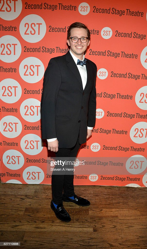 Actor Will Roland attends 'Dear Evan Hansen' opening night after party at John's Pizzeria on May 1, 2016 in New York City.