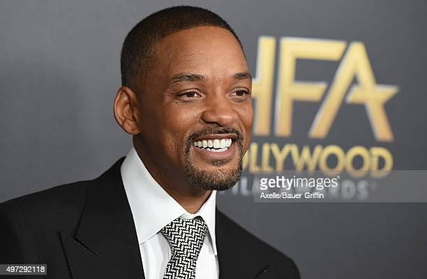 Actor Will Smith arrives at the 19th Annual Hollywood Film Awards at The Beverly Hilton Hotel on November 1 2015 in Beverly Hills California