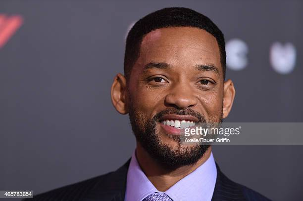 Actor Will Smith arrives at the Los Angeles World Premiere of Warner Bros Pictures 'Focus' at TCL Chinese Theatre on February 24 2015 in Hollywood...