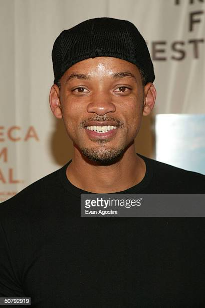 Actor Will Smith arrives at the 'Raising Helen' screening during the 2004 Tribeca Film Festival on May 1 2004 in New York City