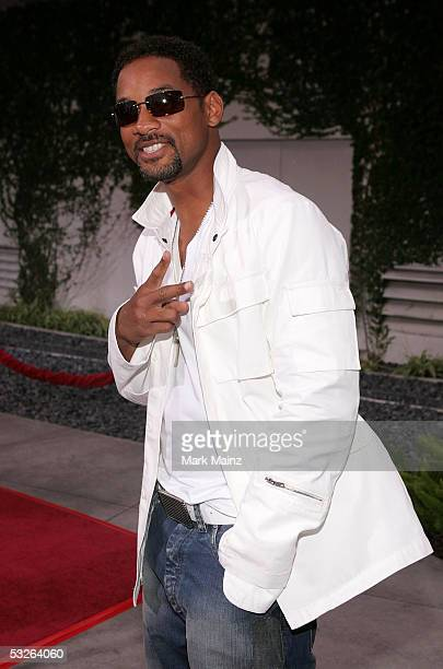 Actor Will Smith arrives to the premiere of 'Hustle and Flow' at the Cinerama Done on July 20 2005 in Hollywood California