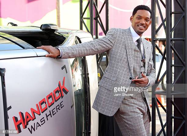 Actor Will Smith arrives to The World Premiere of Columbia Pictures' 'Hancock' at the Grauman's Chinese Theatre on June 30 2008 in Hollywood...