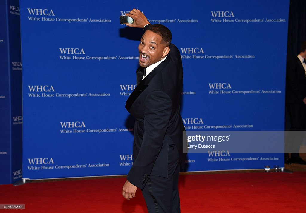 Actor Will Smith attend the 102nd White House Correspondents' Association Dinner on April 30, 2016 in Washington, DC.