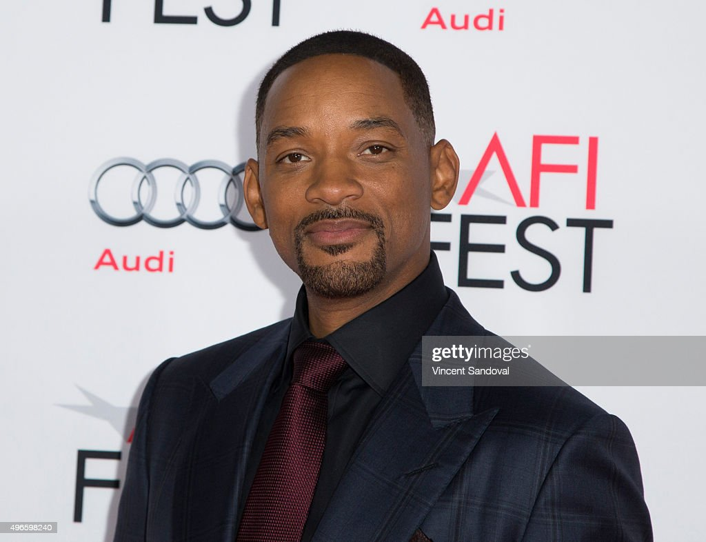 Actor Will Smith attends AFI FEST 2015 presented by Audi Centerpiece Gala Premiere of Columbia Pictures' 'Concussion' at TCL Chinese Theatre on November 10, 2015 in Hollywood, California.