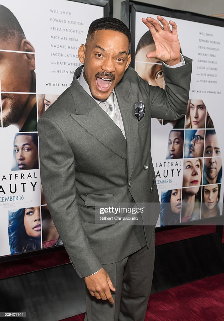 Actor Will Smith attends 'Collateral Beauty' World Premiere at Frederick P. Rose Hall, Jazz at Lincoln Center on December 12, 2016 in New York City.