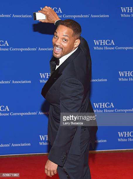 Actor Will Smith attends the 102nd White House Correspondents' Association Dinner on April 30 2016 in Washington DC