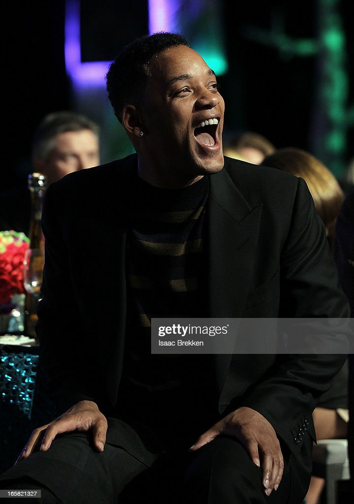 Actor <a gi-track='captionPersonalityLinkClicked' href=/galleries/search?phrase=Will+Smith&family=editorial&specificpeople=156403 ng-click='$event.stopPropagation()'>Will Smith</a> attends the 12th Annual Michael Jordan Celebrity Invitational Gala At ARIA Resort & Casino on April 5, 2013 in Las Vegas, Nevada.