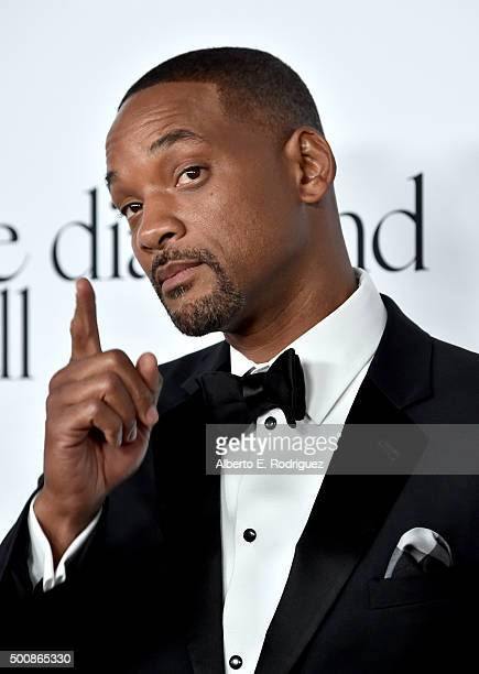 Actor Will Smith attends the 2nd Annual Diamond Ball hosted by Rihanna and The Clara Lionel Foundation at The Barker Hanger on December 10 2015 in...