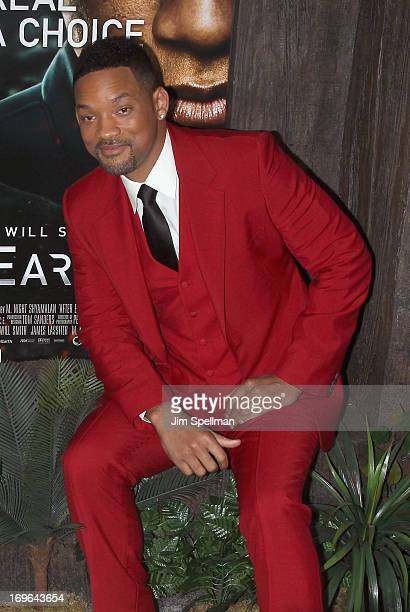 Actor Will Smith attends the 'After Earth' premiere at the Ziegfeld Theater on May 29 2013 in New York City