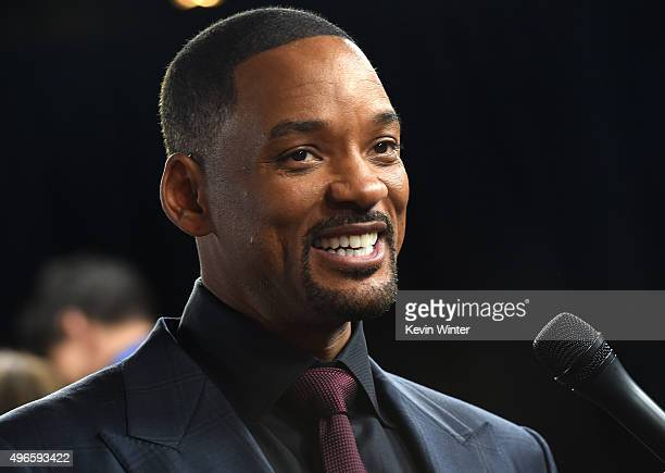 Actor Will Smith attends the Centerpiece Gala Premiere of Columbia Pictures' 'Concussion' during AFI FEST 2015 presented by Audi at TCL Chinese...