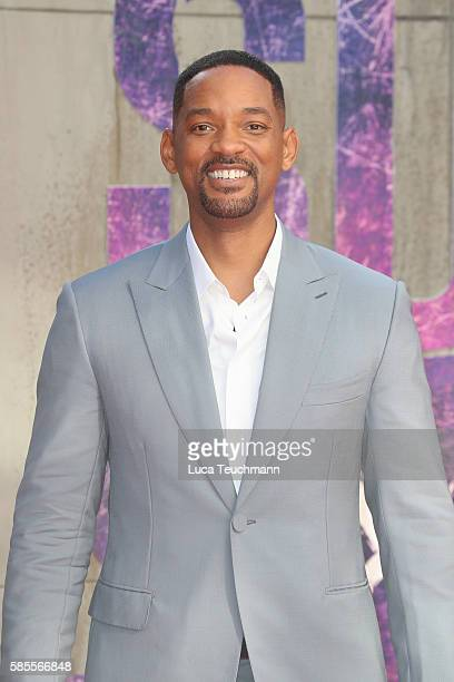 Actor Will Smith attends the European Premiere of 'Suicide Squad' at Odeon Leicester Square on August 3 2016 in London England