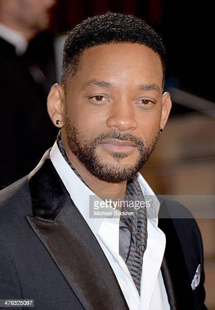 Actor Will Smith attends the Oscars held at Hollywood Highland Center on March 2 2014 in Hollywood California