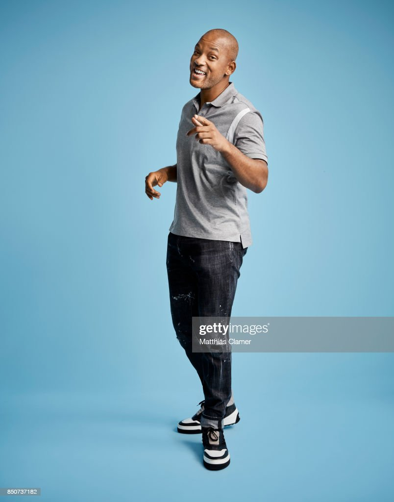 Actor Will Smith from Bright is photographed for Entertainment Weekly Magazine on July 20, 2017 at Comic Con in San Diego, California. PUBLISHED