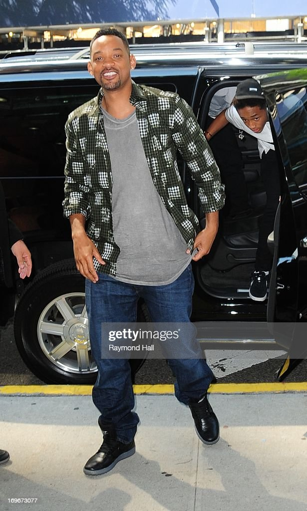 Actor Will Smith is seen outside 'BET Studio'on May 30, 2013 in New York City.