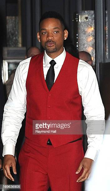 Actor Will Smith is seen outside 'Trump SoHo Hotel' on May 29 2013 in New York City