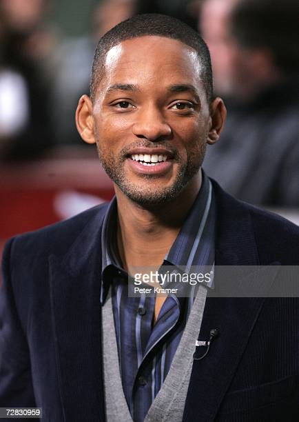 Actor Will Smith makes an appearance on NBC's Today Show on December 15 2006 in New York City