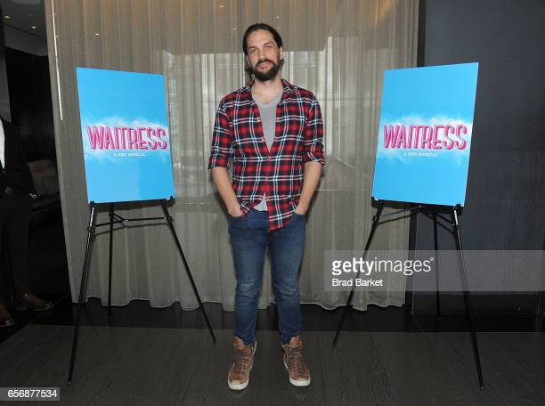 Actor Will Swenson attends the 'Waitress' New Cast Meet Greet at St Cloud at the Knickerbocker Hotel on March 23 2017 in New York City