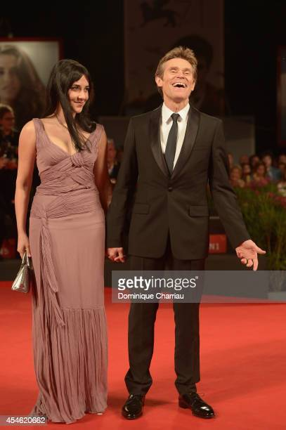 Actor Willem Dafoe and actress Giada Colagrande attend 'Pasolini' Premiere during the 71st Venice Film Festival at Sala Grande on September 4 2014 in...