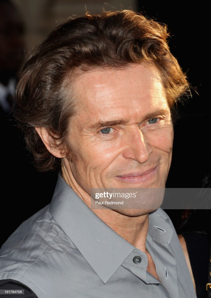 Actor <a gi-track='captionPersonalityLinkClicked' href=/galleries/search?phrase=Willem+Dafoe&family=editorial&specificpeople=203171 ng-click='$event.stopPropagation()'>Willem Dafoe</a> arrives at 'Finding Nemo' Disney Digital 3D - Los Angeles Premiere at the El Capitan Theatre on September 10, 2012 in Hollywood, California.