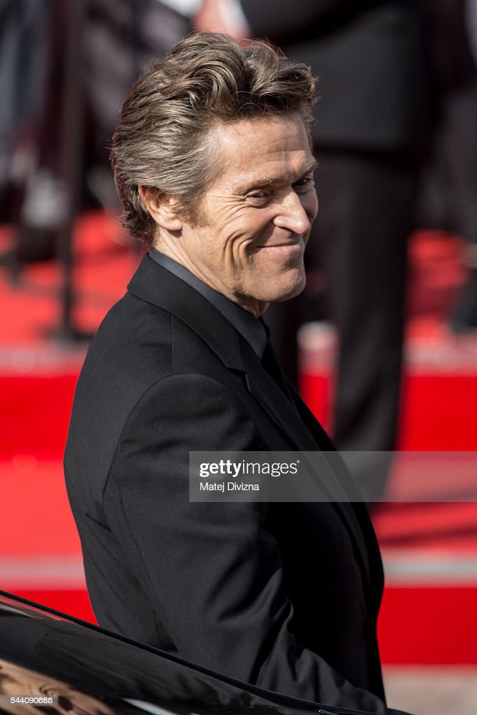Actor Willem Dafoe arrives at the opening ceremony of the 51st Karlovy Vary International Film Festival (KVIFF) on July 1, 2016 in Karlovy Vary, Czech Republic.