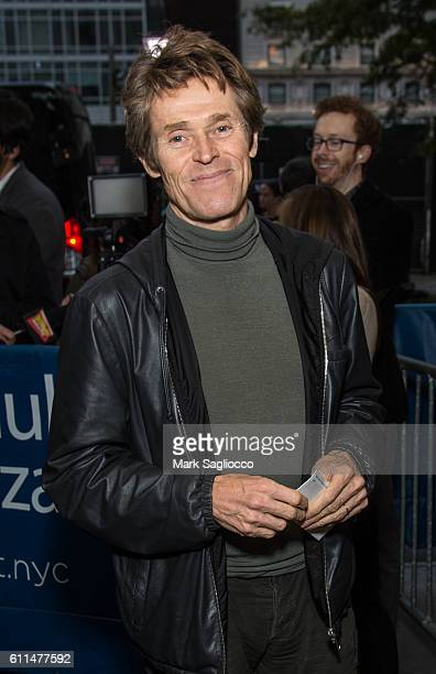Actor Willem Dafoe attends 'The Encounter' Opening Night at the John Golden Theatre on September 29 2016 in New York City