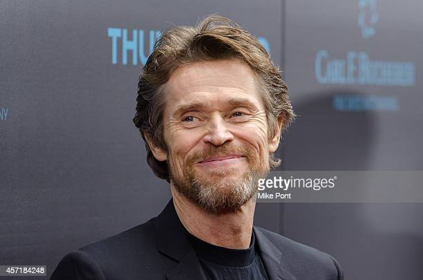 Actor Willem Dafoe attends the 'John Wick' New York Premiere at the Regal Union Square Theatre Stadium 14 on October 13 2014 in New York City