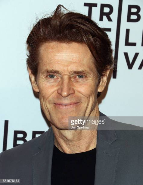 Actor Willem Dafoe attends the 'Julian Schnabel A Private Portrait' screening during the 2017 Tribeca Film Festival at SVA Theatre on April 28 2017...