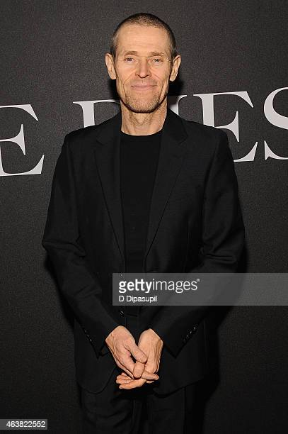 Actor Willem Dafoe attends the Miu Miu Women's Tales 9th Edition 'De Djess' screening on February 18 2015 in New York City