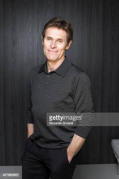 Actor Willem Dafoe is photographed for Gioia Magazine in Venice Italy ON INTERNATIONAL EMBARGO UNTIL MARCH 1 2015