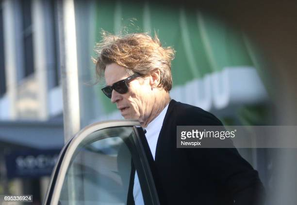 COAST QLD Actor Willem Dafoe seen at Broadbeach on the Gold Coast Queensland The actor is currently filming 'Aquaman'