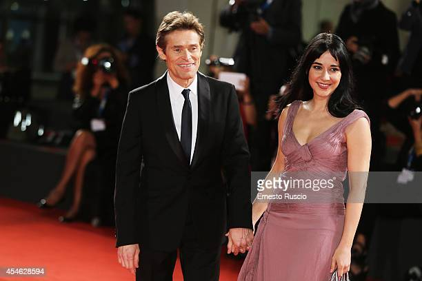 Actor Willem Dafoe with his wife Giada Colagrande attend 'Pasolini' Premiere during the 71st Venice Film Festival at Sala Grande on September 4 2014...