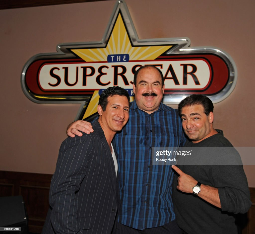 Actor William DeMeo, VP Player Development of Resorts Casino John Conklin and director Paul Borghese attend the 'Once Upon A Time in Brooklyn' screening at Resorts Casino Hotel on May 11, 2013 in Atlantic City, New Jersey.